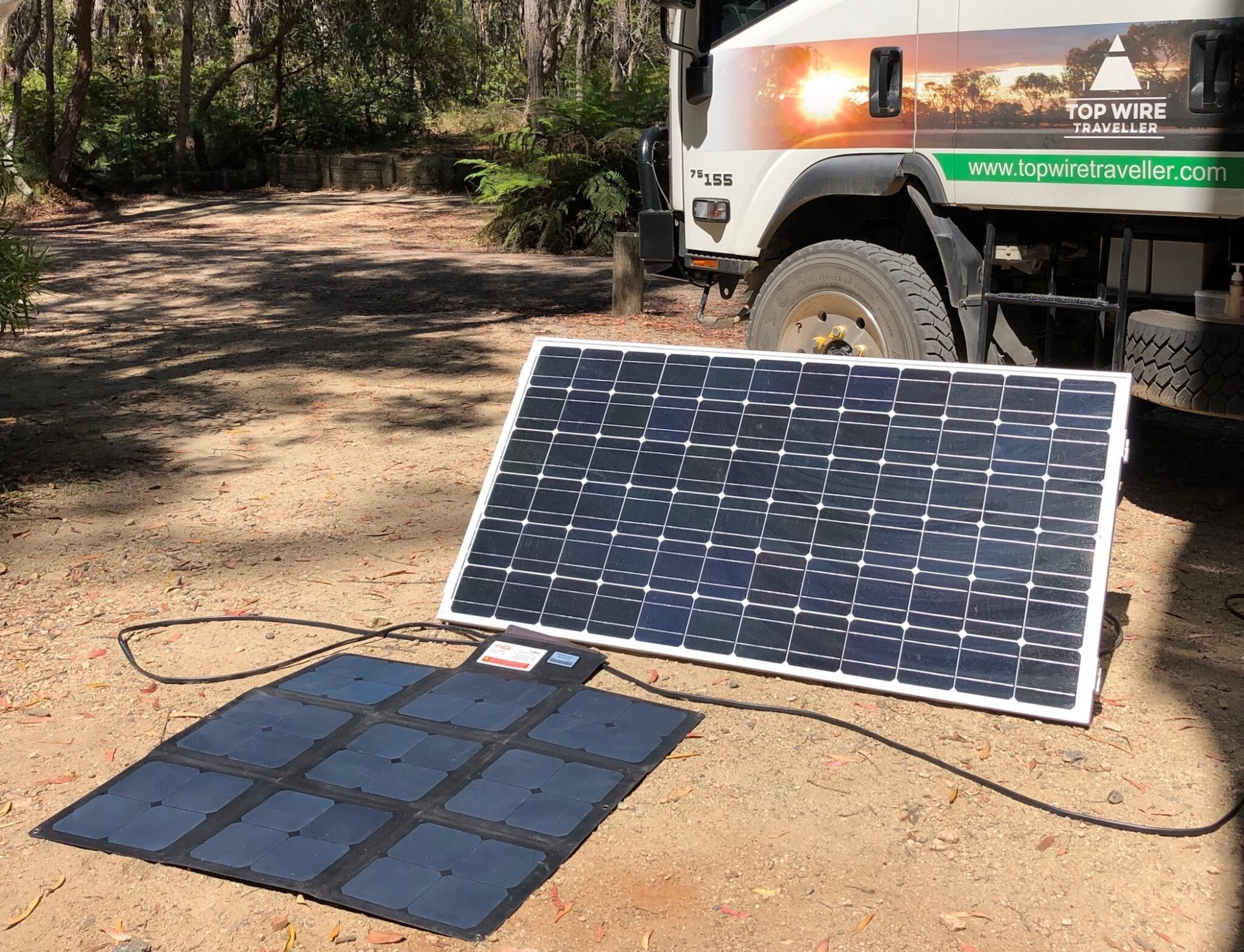 How to connect two solar panels into one battery system.