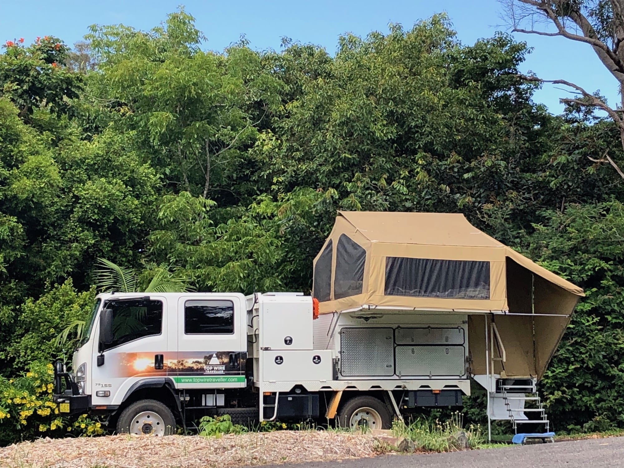 Our Wedgetail Camper video gives you a look inside and around our slide-on camper.