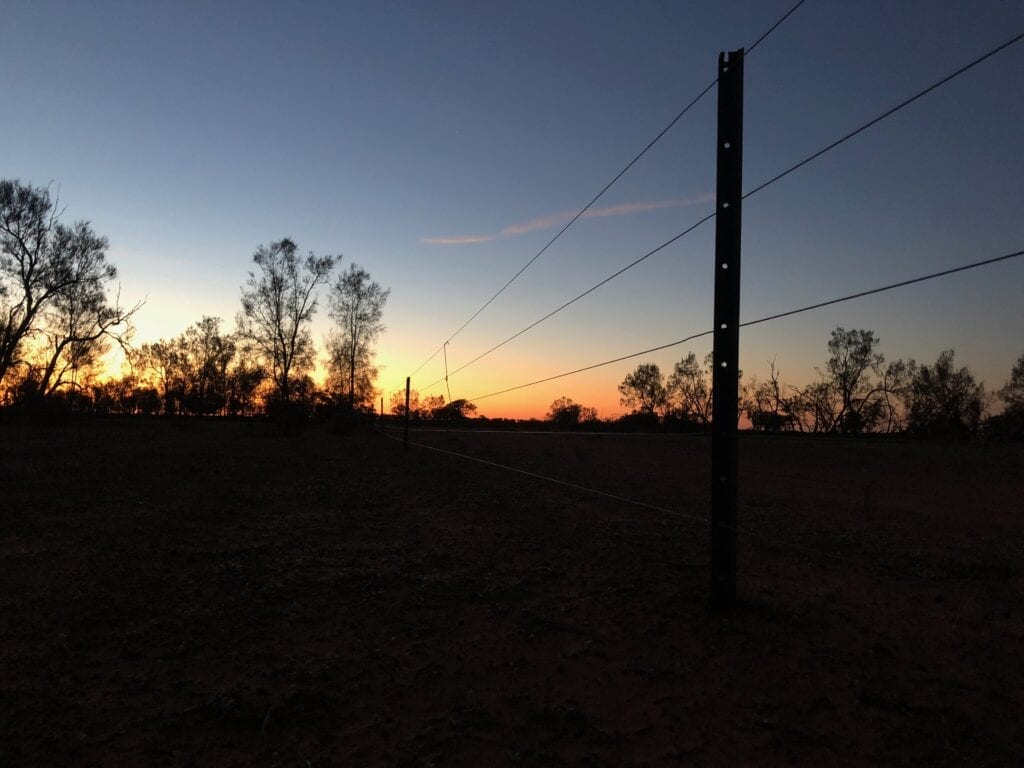 Another incredible outback sunset while we were camped out as control officials at the Sunraysia Safari.