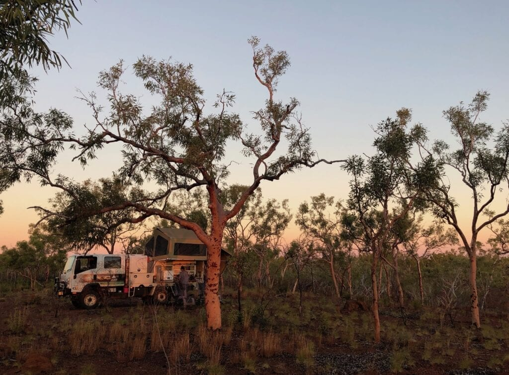 Camped in Judbarra / Gregory National Park, one of our Top 5 outback destinations.