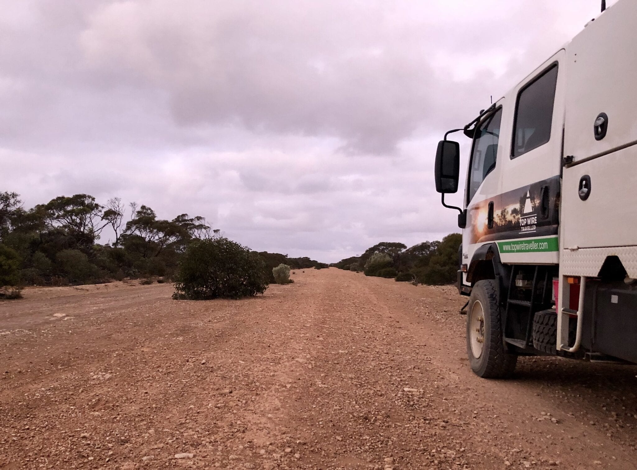 Travelling the Old Eyre Highway, Nullarbor Plain SA.