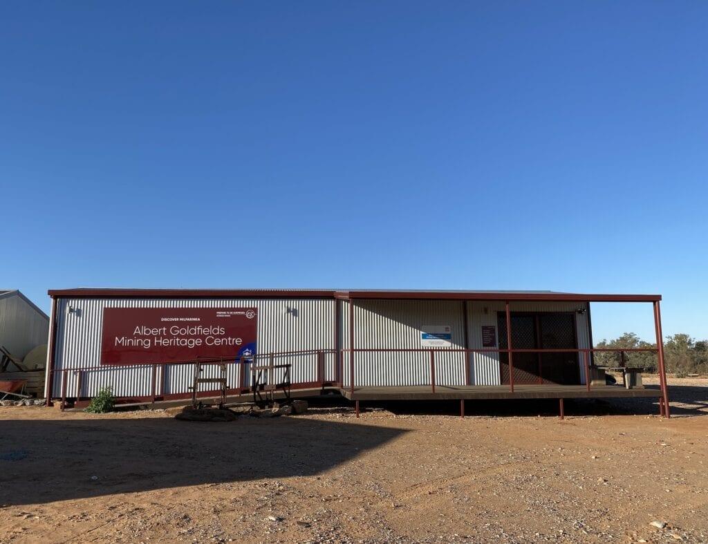 The Albert Goldfields Mining Heritage Centre at Milparinka, NSW