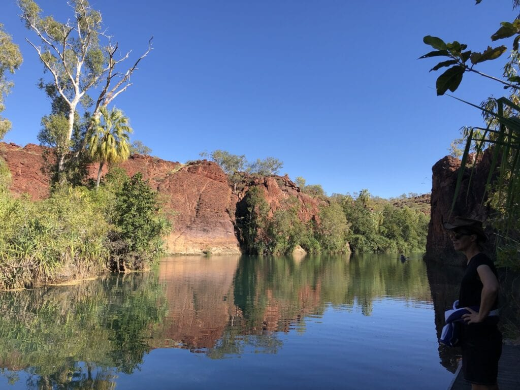 The magnificent Boodjamulla (Lawn Hill) National Park, Western Queensland.