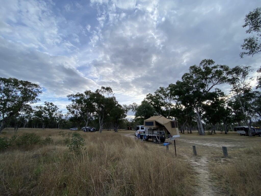 Dargonelly Campground at Mount Moffatt, Carnarvon Gorge National Park, QLD.