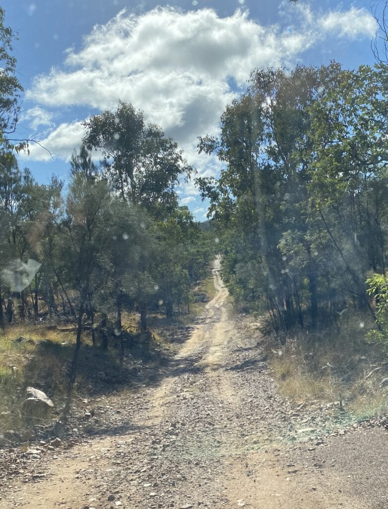 The High Country Drive at Mount Moffatt, Carnarvon Gorge National Park, QLD.