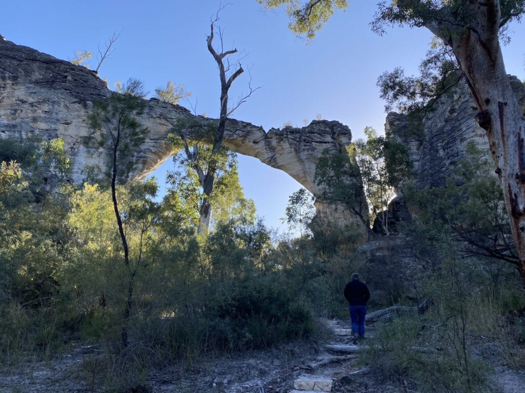 Marlong Arch at Mount Moffatt, Carnarvon Gorge National Park, QLD.