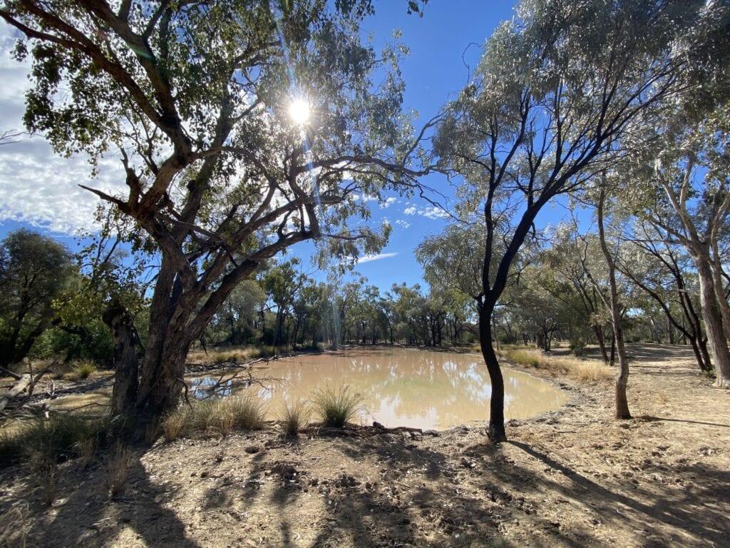 Junction Hole, Idalia National Park QLD.