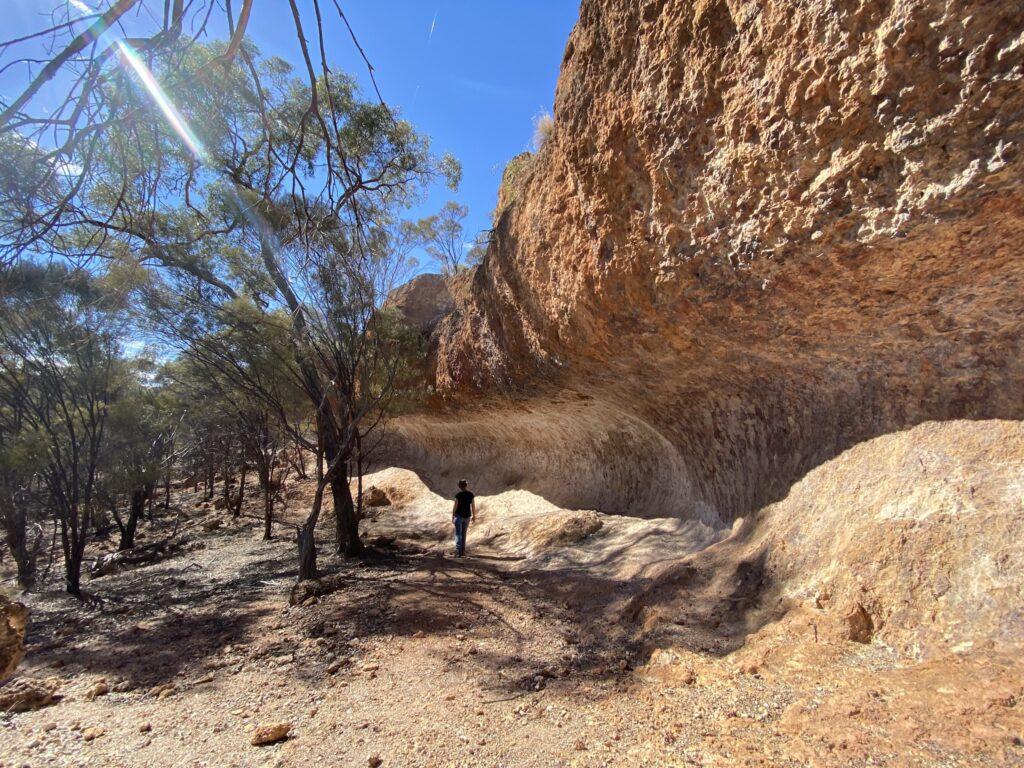 Wave Rock at Idalia National Park QLD.