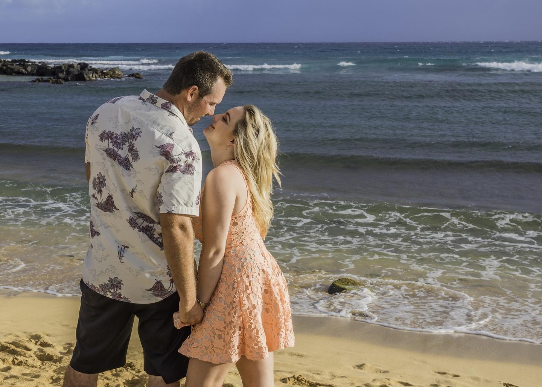 Love on Kauai - Hawaii Ocean Photography