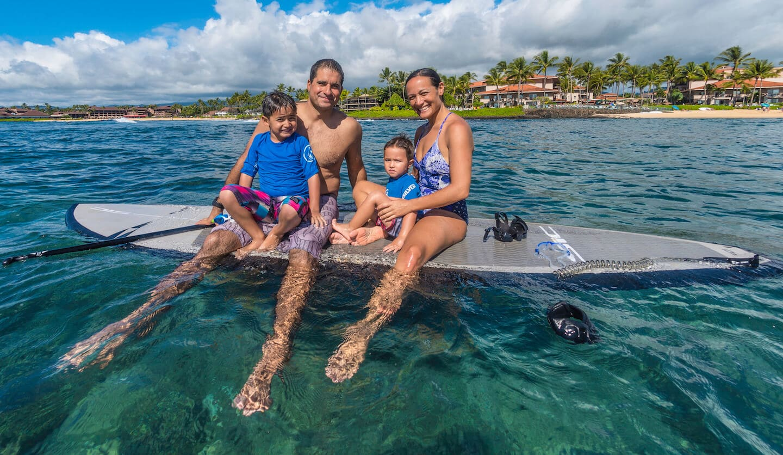 family ocean photography hawaii