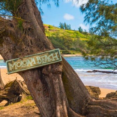 Moloa`a Beach