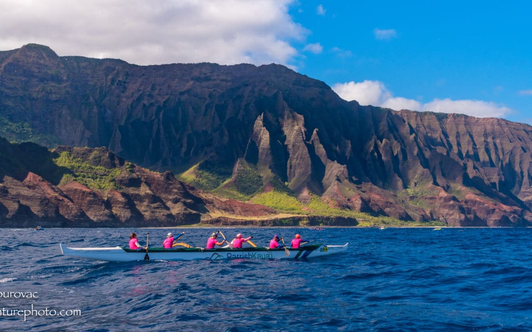 2017 Napali Outrigger Canoe Race