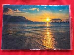 Hanalei Bay Sunset - Hawaii Ocean Photography