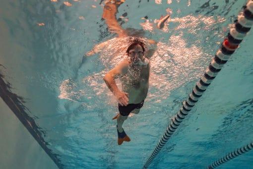 Swim technique video