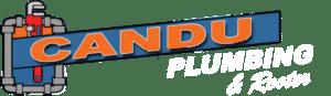 candu plumbing & rooter logo