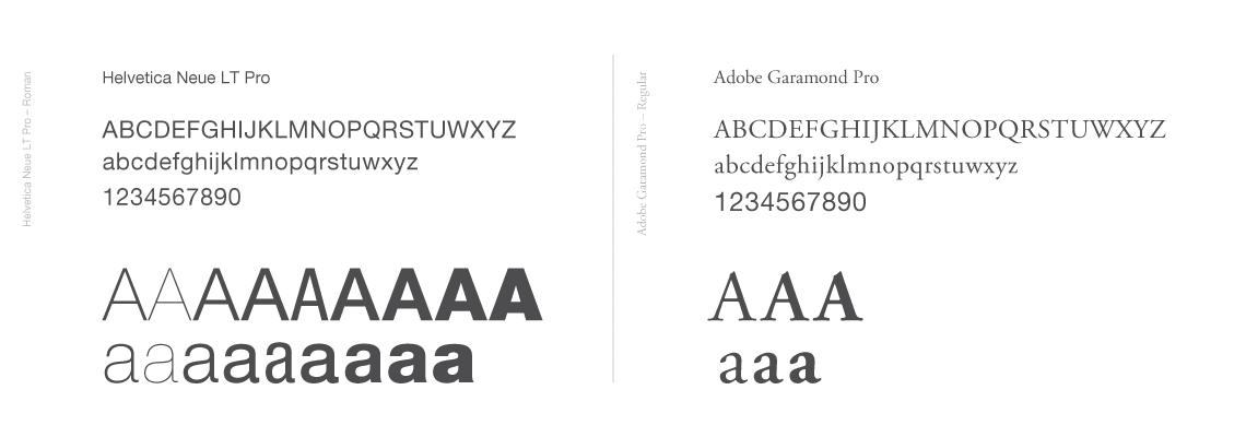 AHS ACPLF typography