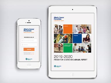 AHS – Rebranding Healthcare and Alberta Cancer Prevention