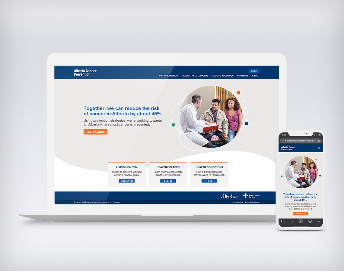 AHS ACPLF website design
