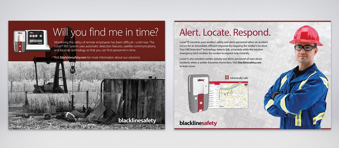 blackline safety ads