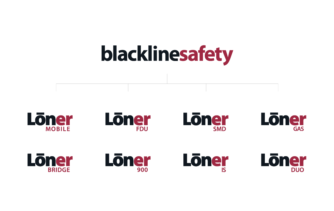 blacklime safety family of logos designs