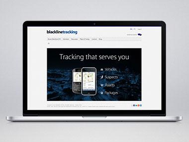Blackline Tracking – UX/UI Website Design