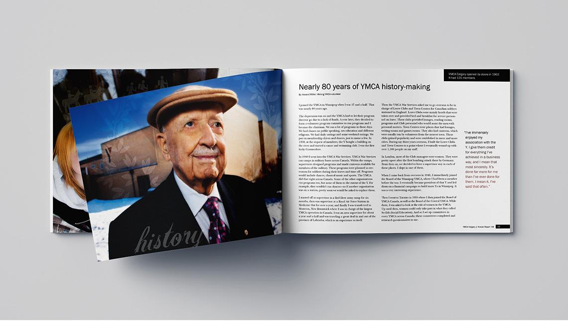 ymca calgary annual report history