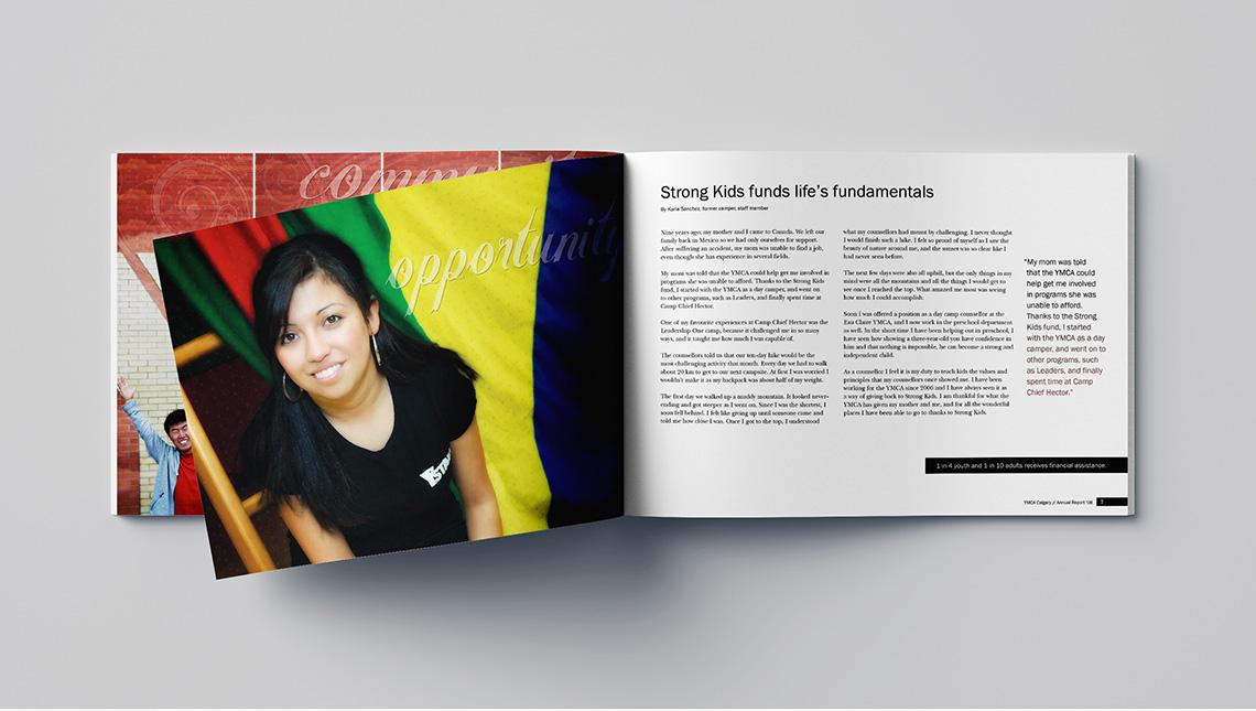 ymca calgary annual report opportunities
