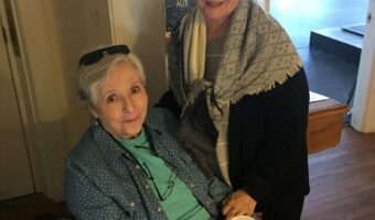 Dayle Stanley with Betsy Siggins