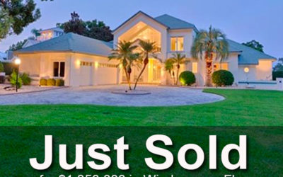 Just Sold on the Butler Chain in Windermere