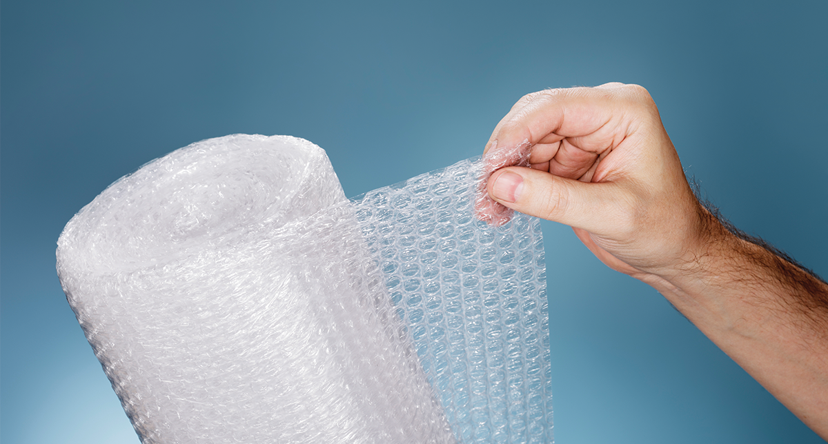 The accidental creation of Bubble Wrap