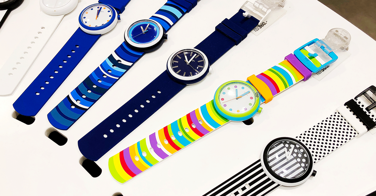 A history of Swatch Watches