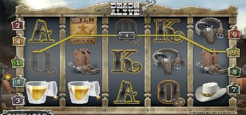 wild symbol of dead or alive slot game