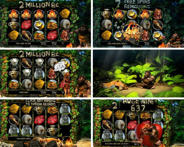 Features of 2 Million BC slot