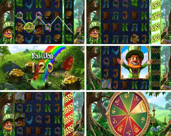 Features of Charms & Clovers slot