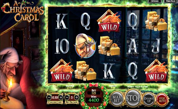 wild symbol of A Christmas Carol Slot game