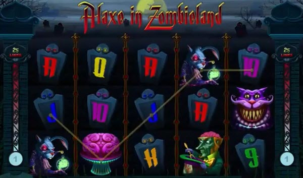 wild symbol of alaxe in zombieland