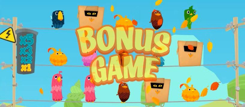 bonus symbol of Birds On A Wire slot game