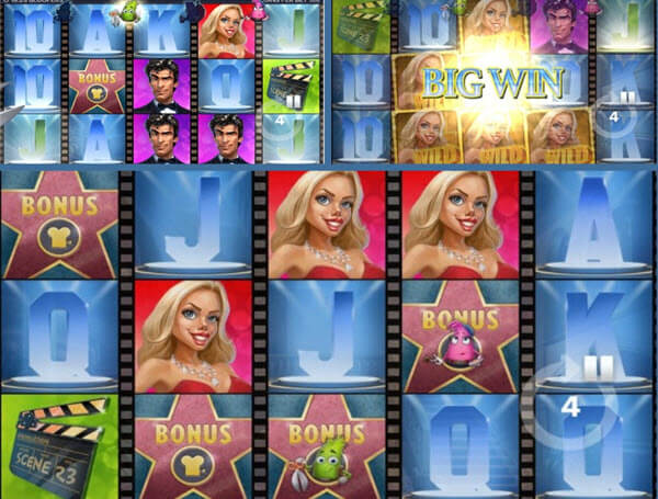 Bloopers slot game -features