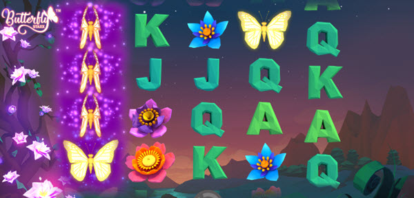 Butterfly Re-Spins of butterfly-staxx slot game