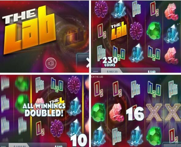 features of The Lab Slot -elk studios slots