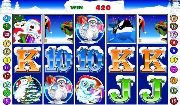 wild symbol of santa paus slot game