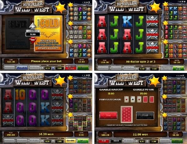 features of wild west slot game