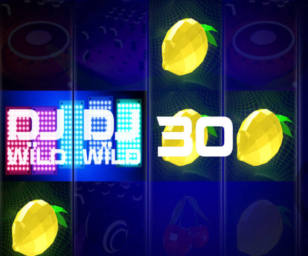wild symbol of DJ Wils slot game