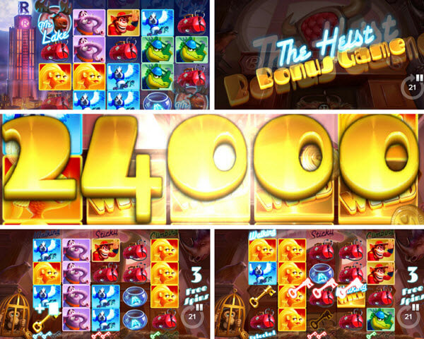 free spins walking wilds and other bonus features of Lake's Five slot game-elk studios slots