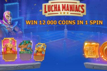 Lucha Maniacs slot game