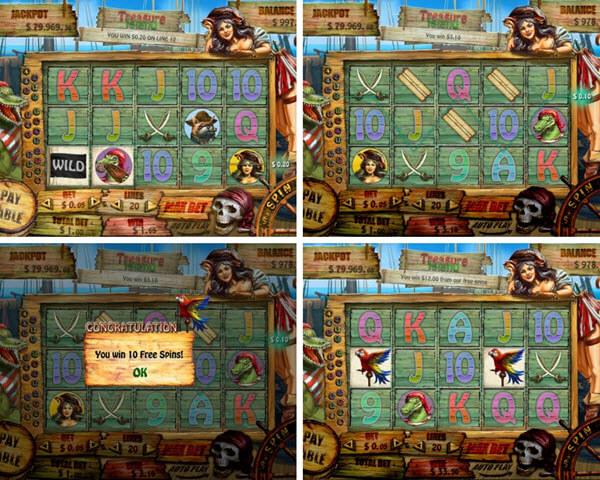 reasure Island slot game