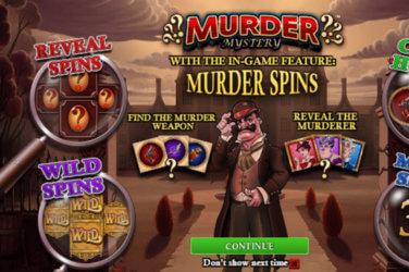 Murder Mystery slot game