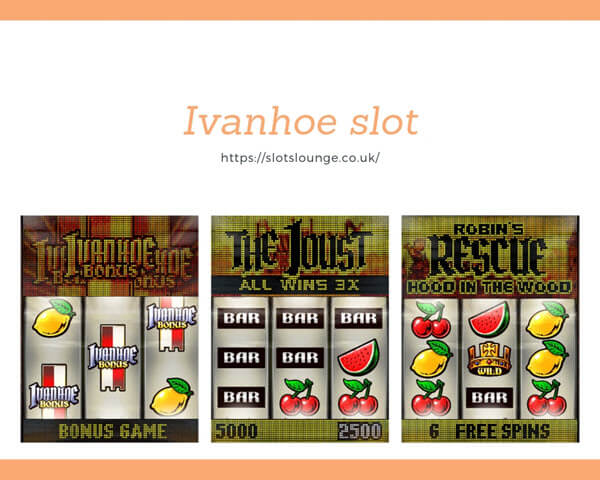 features of Ivanhoe slot