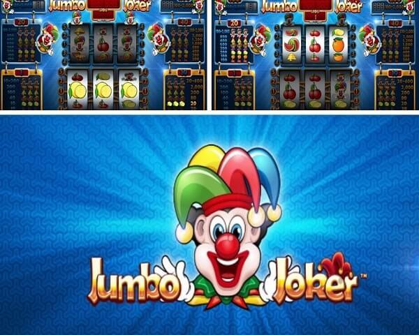 Symbols ofJumbo Joker slot-betsoft