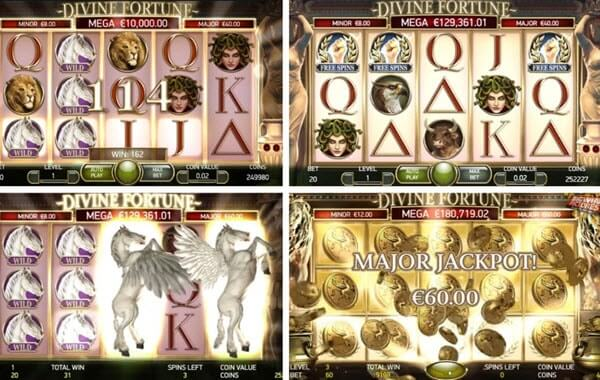Divine fortune slot game-NetEnt slots
